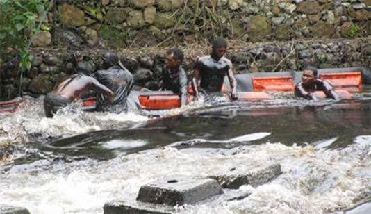 Contaminación del Rio Guarapiche por PDVSA (Estado Monagas)