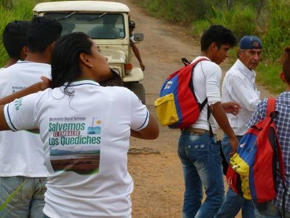 Comunidades de Veracruz y la Bárbara luchan contra la apertura de mina de sílice en el municipio Torres (Estado Lara)