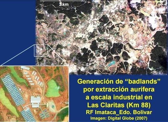 La Reserva Forestal Imataca, Región Guayana