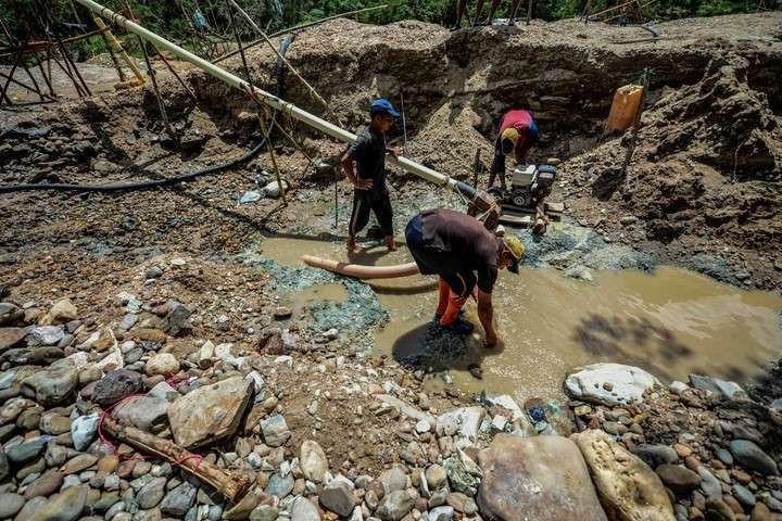 Minería ilegal y la contaminación por mercurio en El Callao