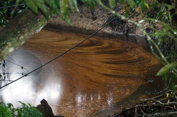 COLOMBIA: Derrame en Lizama. Fluye el petróleo, sangra la tierra