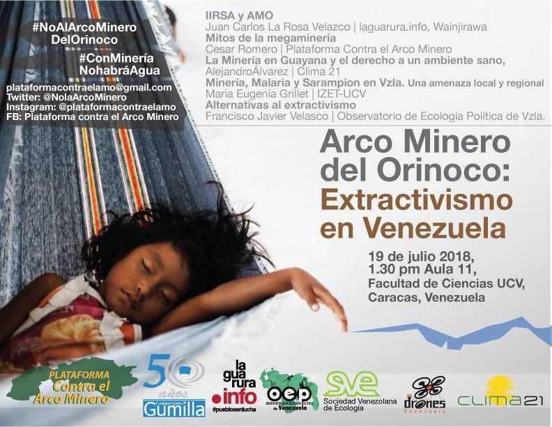 FORO – Arco Minero del Orinoco: Extractivismo en Venezuela