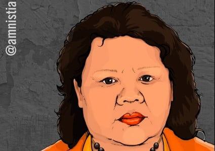 Mujer pemón denuncia la militarización del territorio