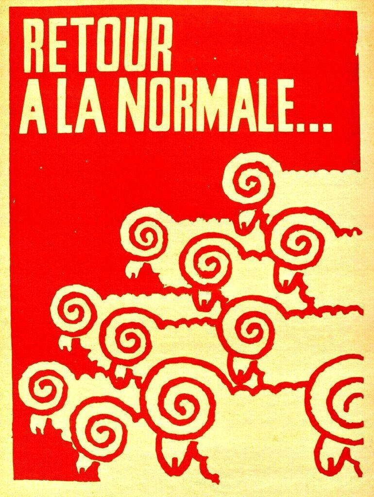 El retorno a la normalidad: una proclama inconsistente y engañosa.