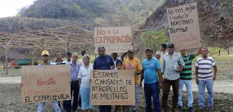 Destruir el Cerro la vieja es destruir la mejor reserva de tierras agrícolas en Simón Planas