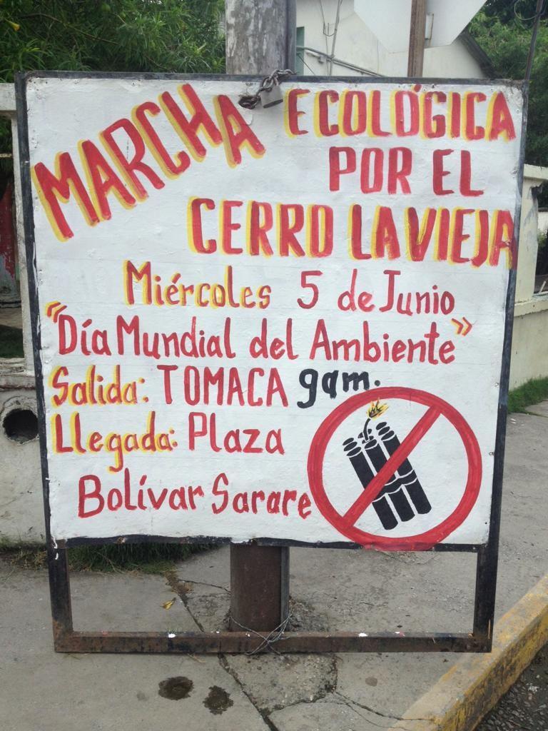 En el Día Mundial del Ambiente defendemos El Cerro La Vieja