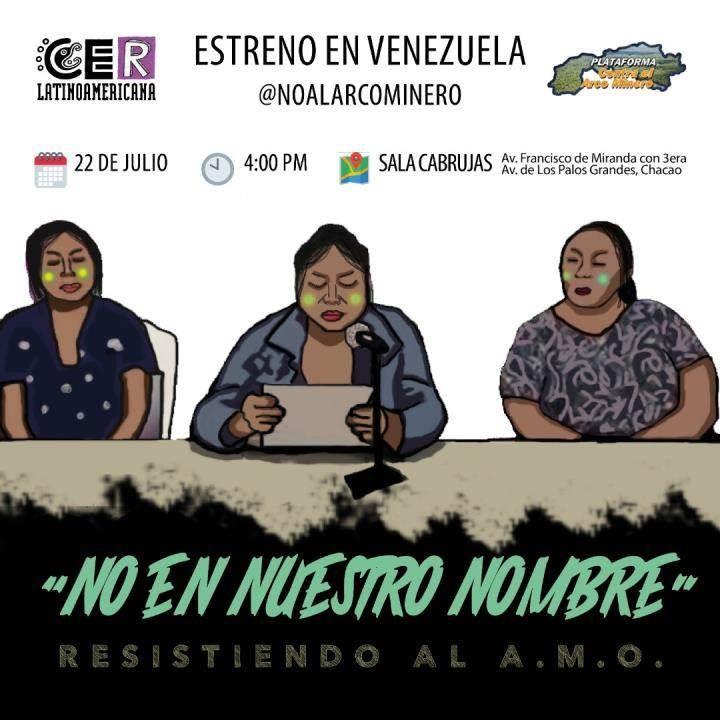 Estrena el Documental «No en nuestro nombre: Resistiendo al A.M.O»