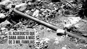 Comunidad de San Jacinto en Mérida reclama recuperación del acueducto