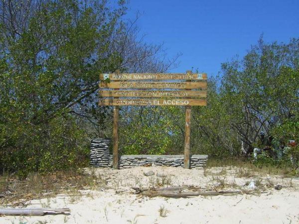 Comunicado Isla Santo Domingo debe seguir siendo zona de protección integral dentro del Parque Nacional San Esteban