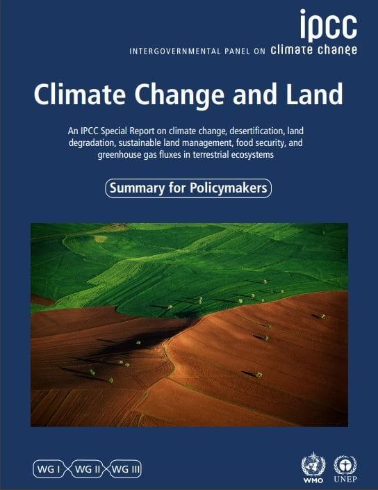 """Apuntes sobre el reporte """"Cambio Climático y la Tierra"""" del IPCC (Agosto 2019)"""