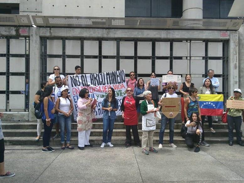 En Caracas se escucharon las voces por la Amazonía