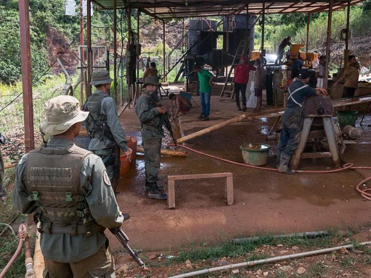¿Quién asesina en las minas en Venezuela?