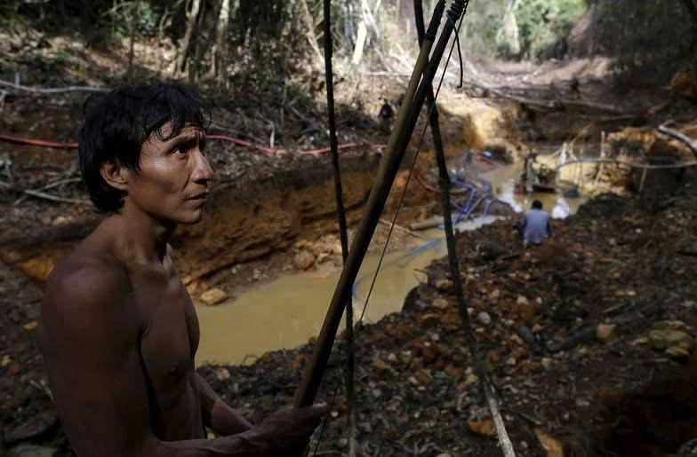 Miles de mineros ilegales invaden territorio yanomami