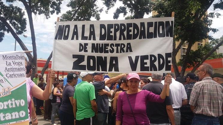 Caracas: vecinos de Montalbán en defensa del Parque Metropolitano Leonardo Ruíz Pineda