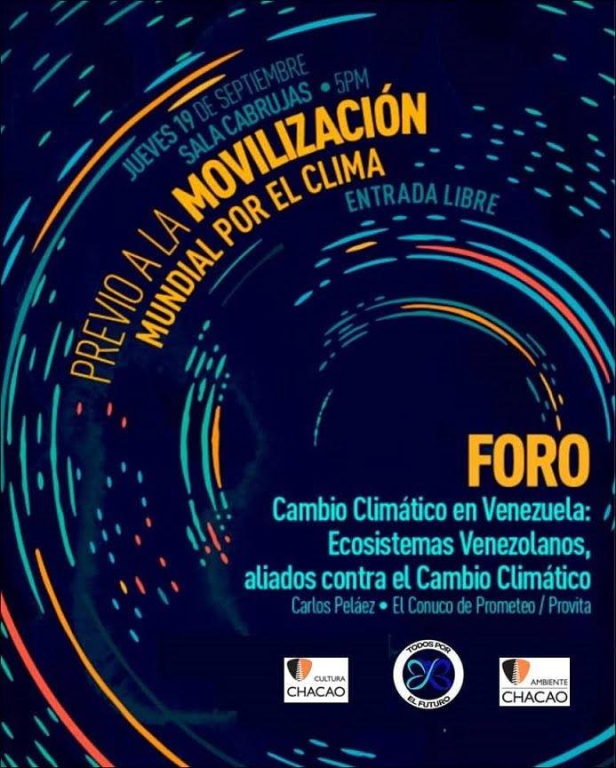 Foro Cambio Climático en Venezuela, Ecosistemas venezolanos: aliados contra el cambio climático