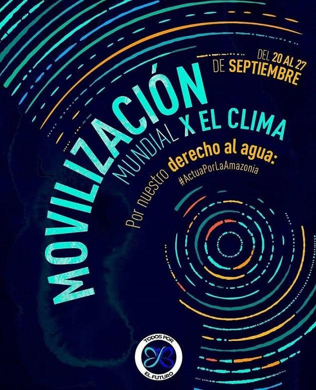 Movilización Mundial por el Clima en Venezuela 20 al 27 septiembre