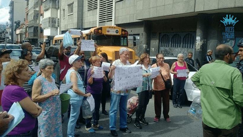 Zonas de Caracas tienen hasta 28 días sin agua