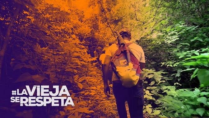 Caminata y tuitazo por el Cerro La Vieja 30Nov