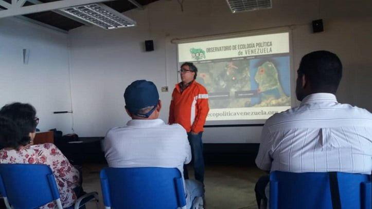 Taller Diagnóstico Socioambiental Participativo en Galipán