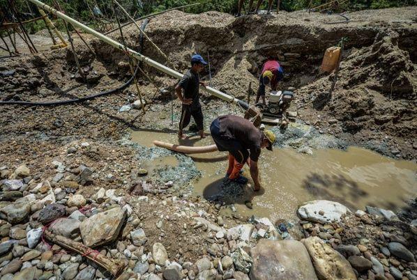 Cecodap alerta que 45% de los trabajadores de las minas en Bolívar son niños y adolescentes