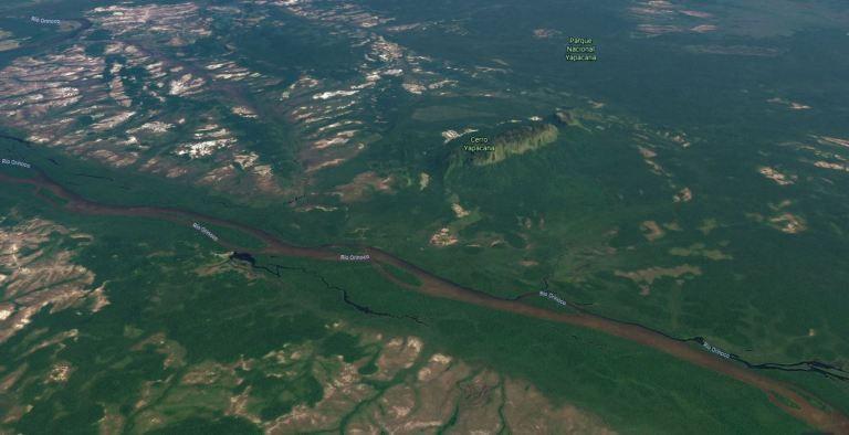 Minería ilegal avanza con daños devastadores en Parque Nacional Yapacana