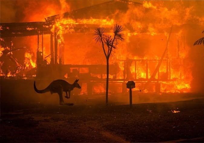 Uno de los puntos de inflexión del cambio climático está ocurriendo justo ahora en Australia, dice Michael Mann
