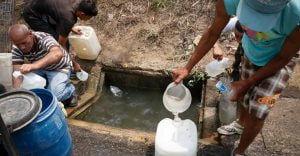 Según informe de la ONU, 25% de los hogares en Venezuela no tienen acceso al agua potable