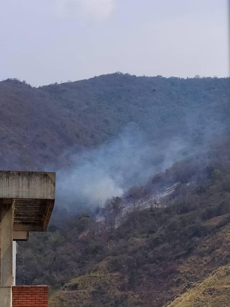 Vecinos de Montalbán denuncian incendios forestales provocados en el Parque Leonardo Ruiz Pineda