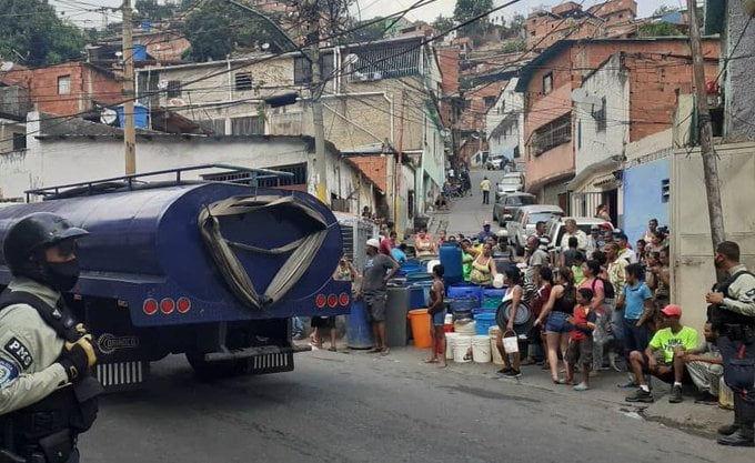 Cuarentena sin agua en Caracas