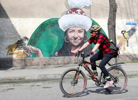 Celebración de la bicicleta