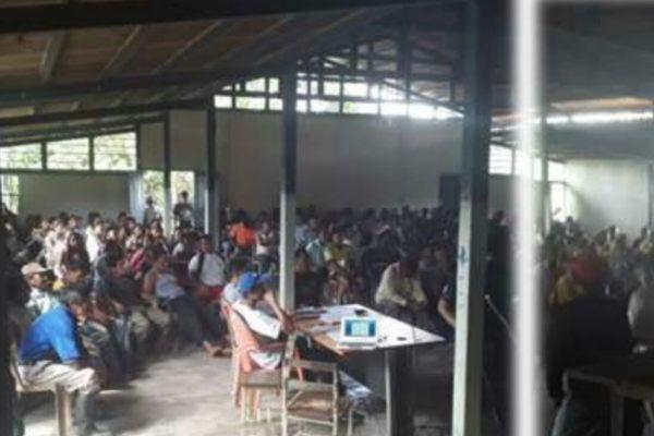 Kapé Kapé: Indígenas Uwottuja de Amazonas activan guardia territorial