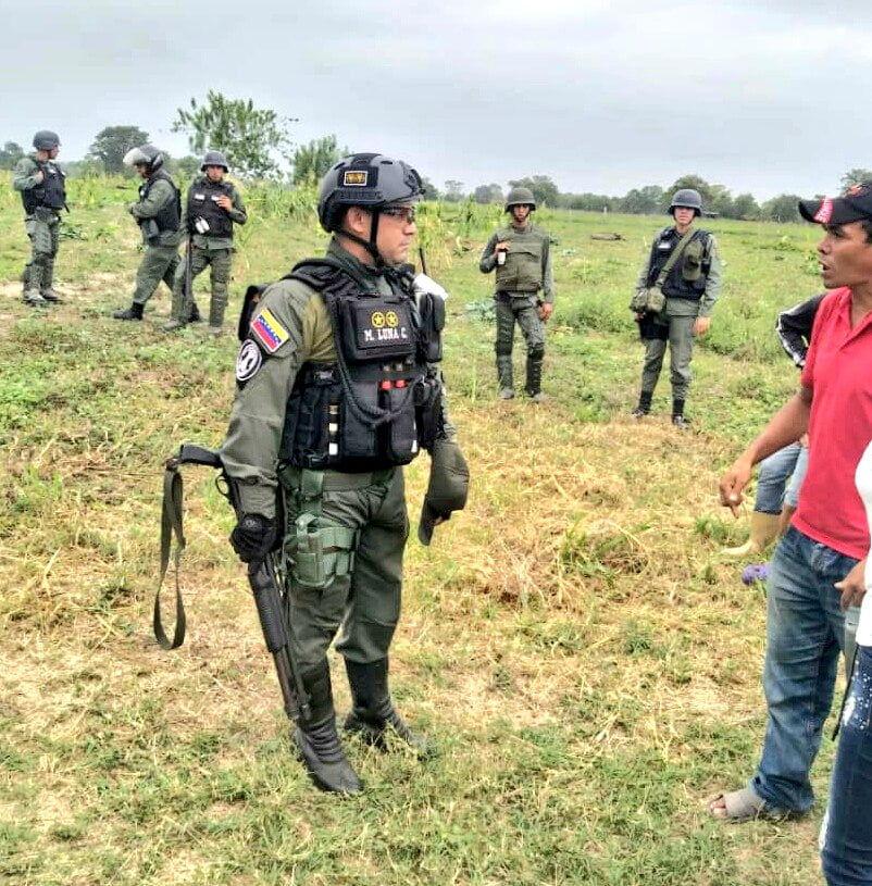 El extractivismo se expresa también en los desalojos arbitrarios a campesinos en Venezuela