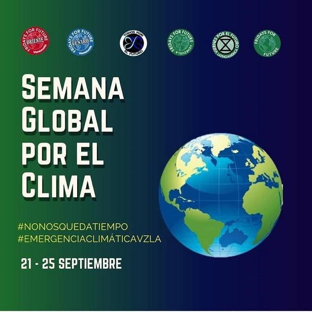 Semana Global por el Clima en Venezuela 21 al 25 de septiembre 2020