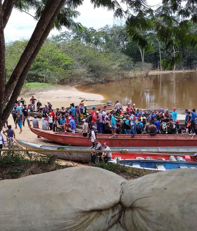Más de 100 mineros invaden comunidad pemón en Bolívar